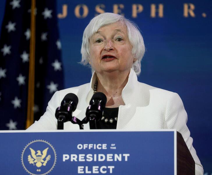 Janet Yellen new Sec. of Treasury